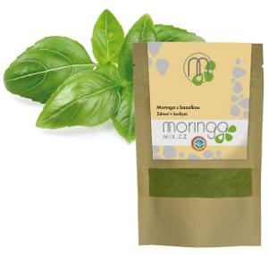 Moringa mix s bazalkou
